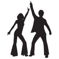 236x236 Disco Dancer Silhouette Cliparts Co Aniversario