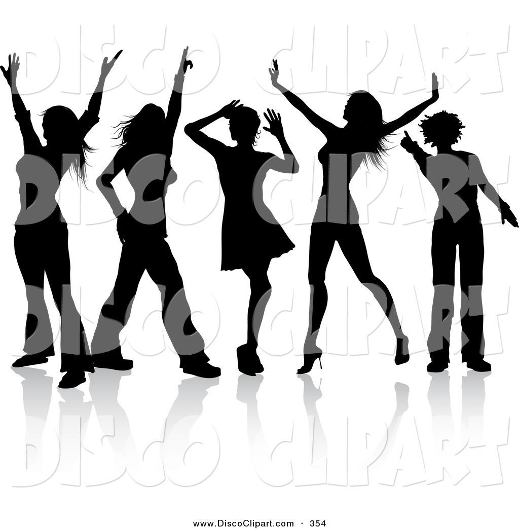 1024x1044 Disco Clipart Group Dance