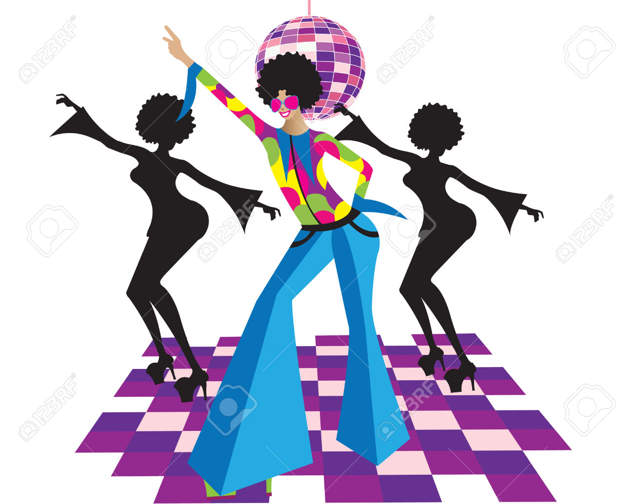 1300x1034 Dancer Clipart Disco Dancer
