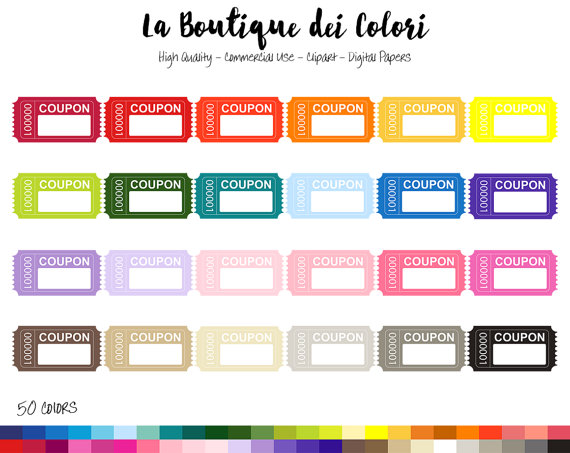 570x453 50 Rainbow Coupon Clipart, Cute Digital Graphics Png, Sale