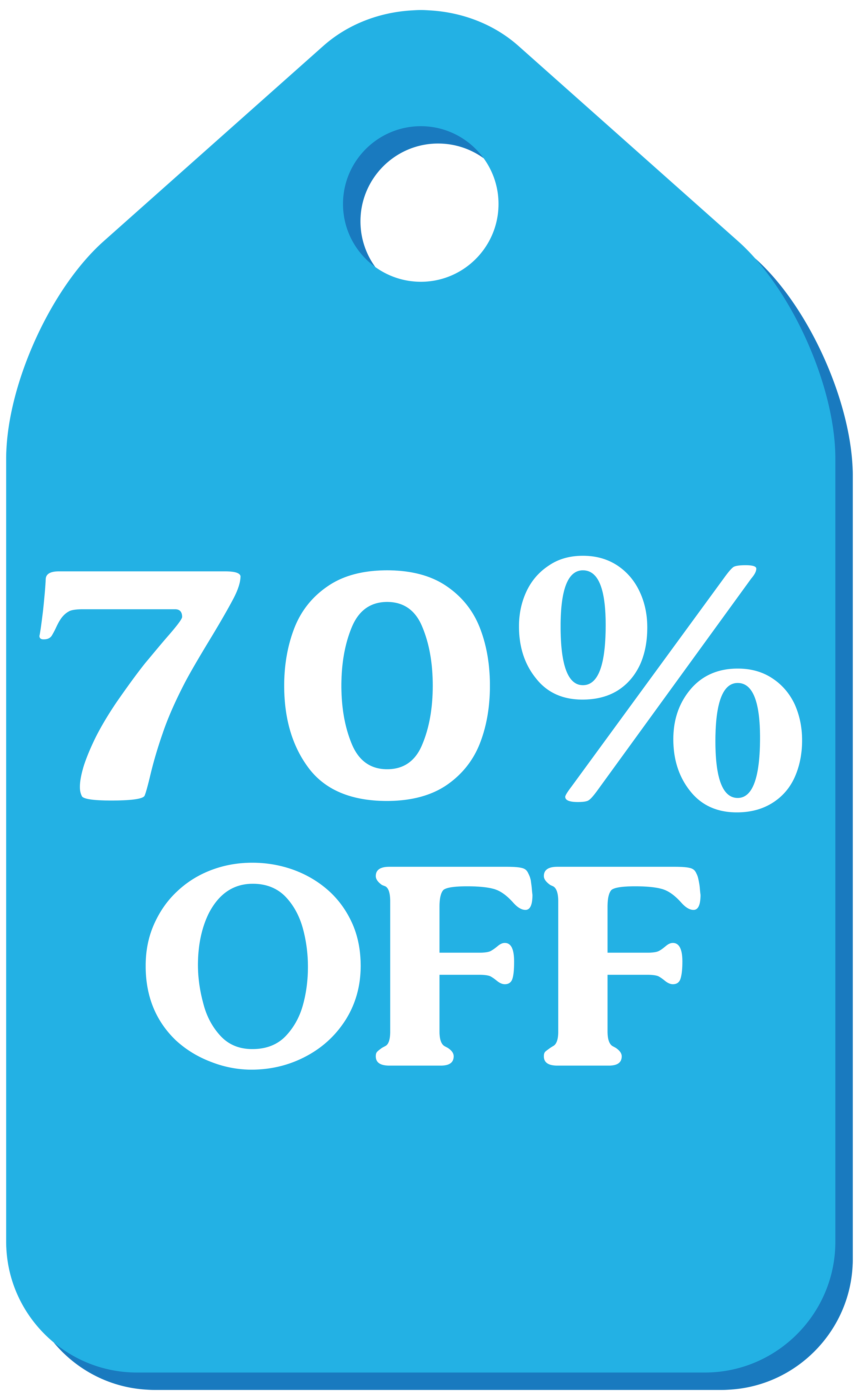 4910x8000 Blue Discount Tag Png Clip Art Imageu200b Gallery Yopriceville