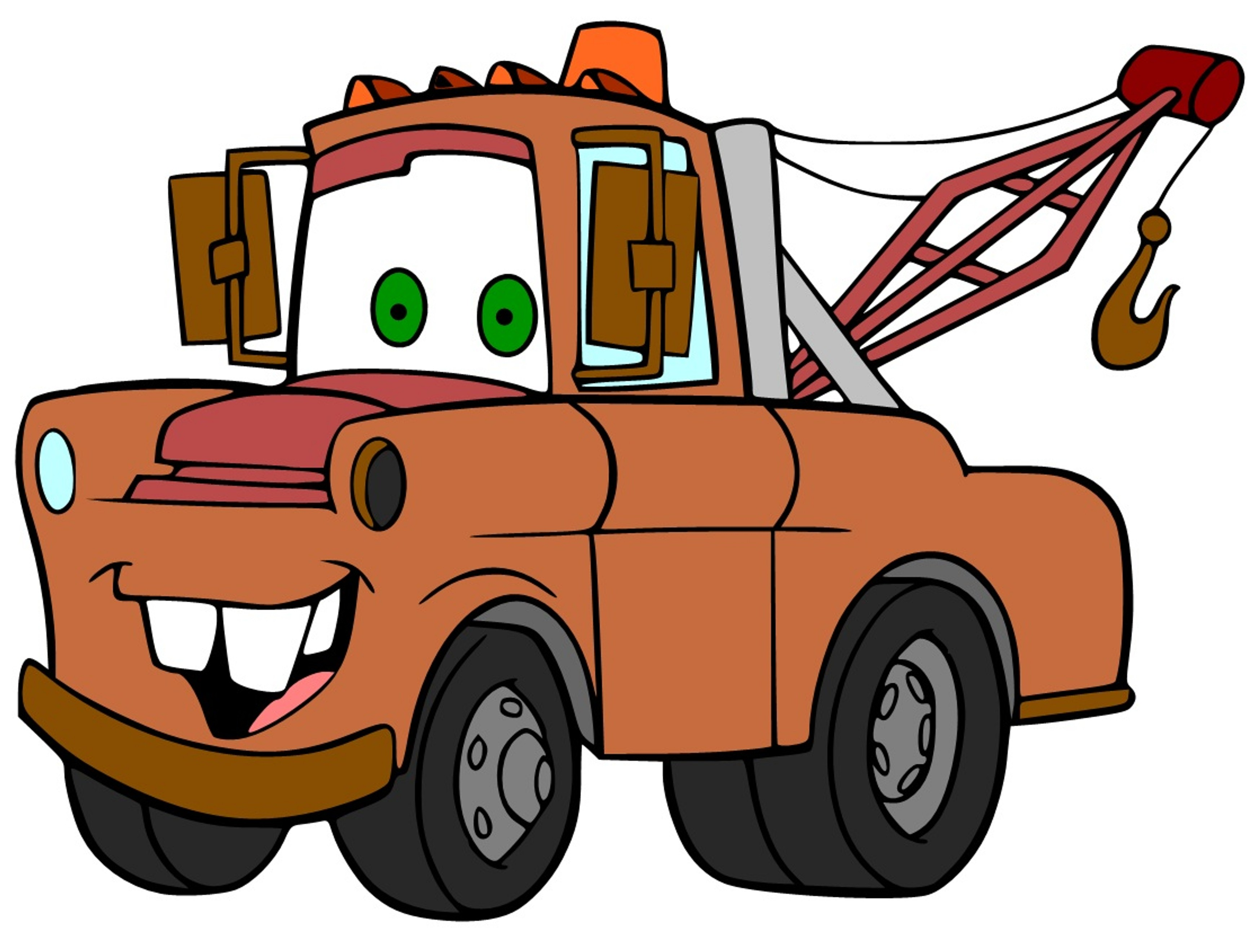 3480x2640 Mater Coloring Pages