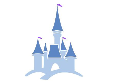 448x318 Castle Clipart Walt Disney