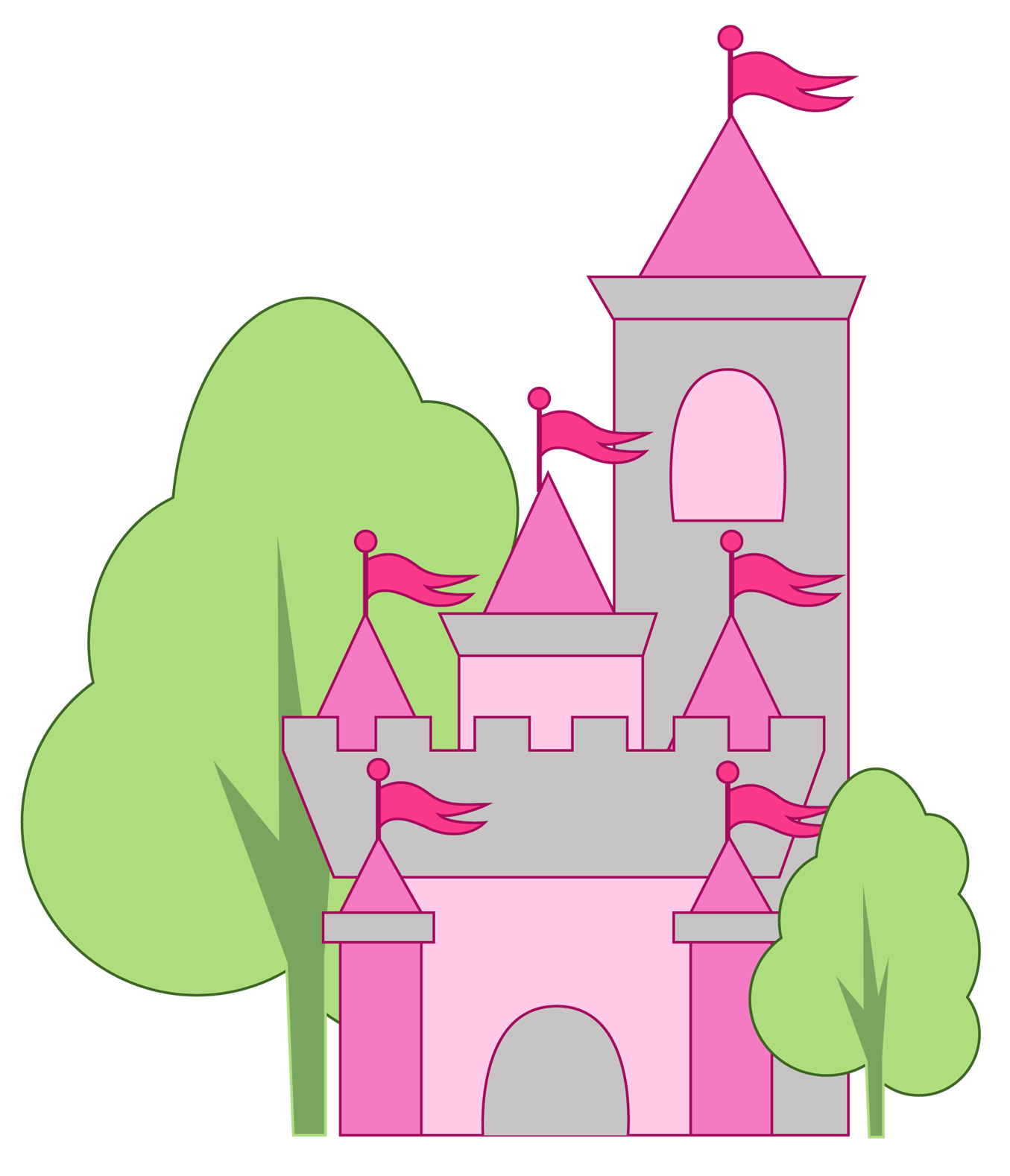 1355x1578 Disney Castle Clip Art Clipart Downloads Princess