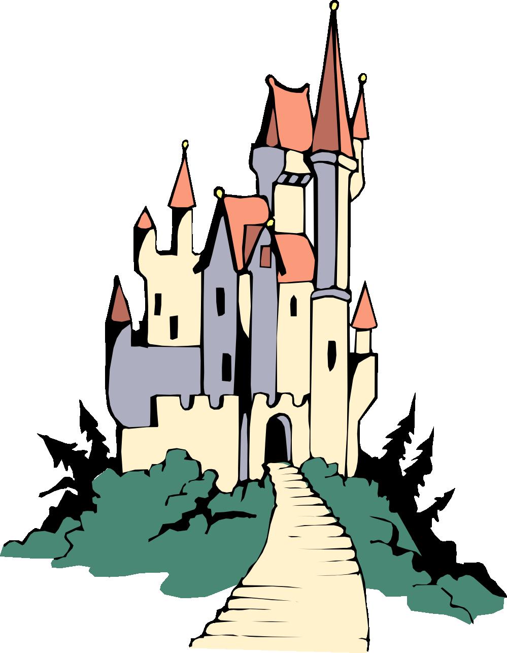999x1286 Free Disney Castle Clipart Image