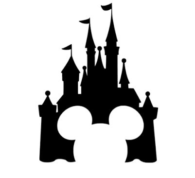 401x366 The Best Disney Castle Silhouette Ideas Disney