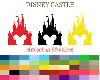 340x270 Castle Clipart Etsy