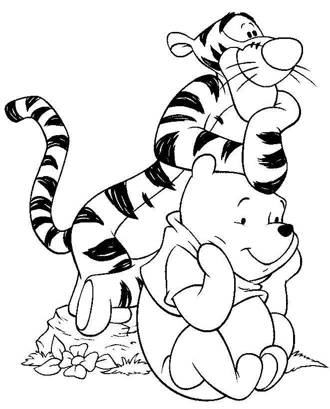 661x820 Disney Characters Coloring Pages Print With Capture Enticing