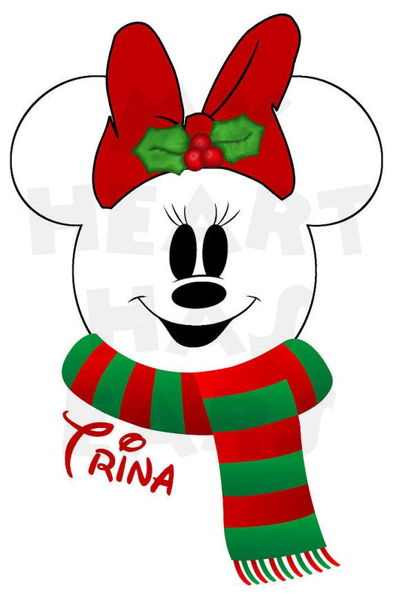 Disney Christmas Clipart