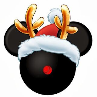 320x319 Mickey Mouse Christmas Clipart