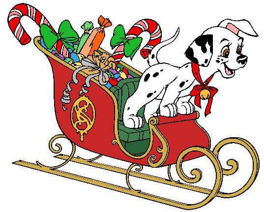 537x431 Spot On Santa's Sled Christmas Cartoons 101