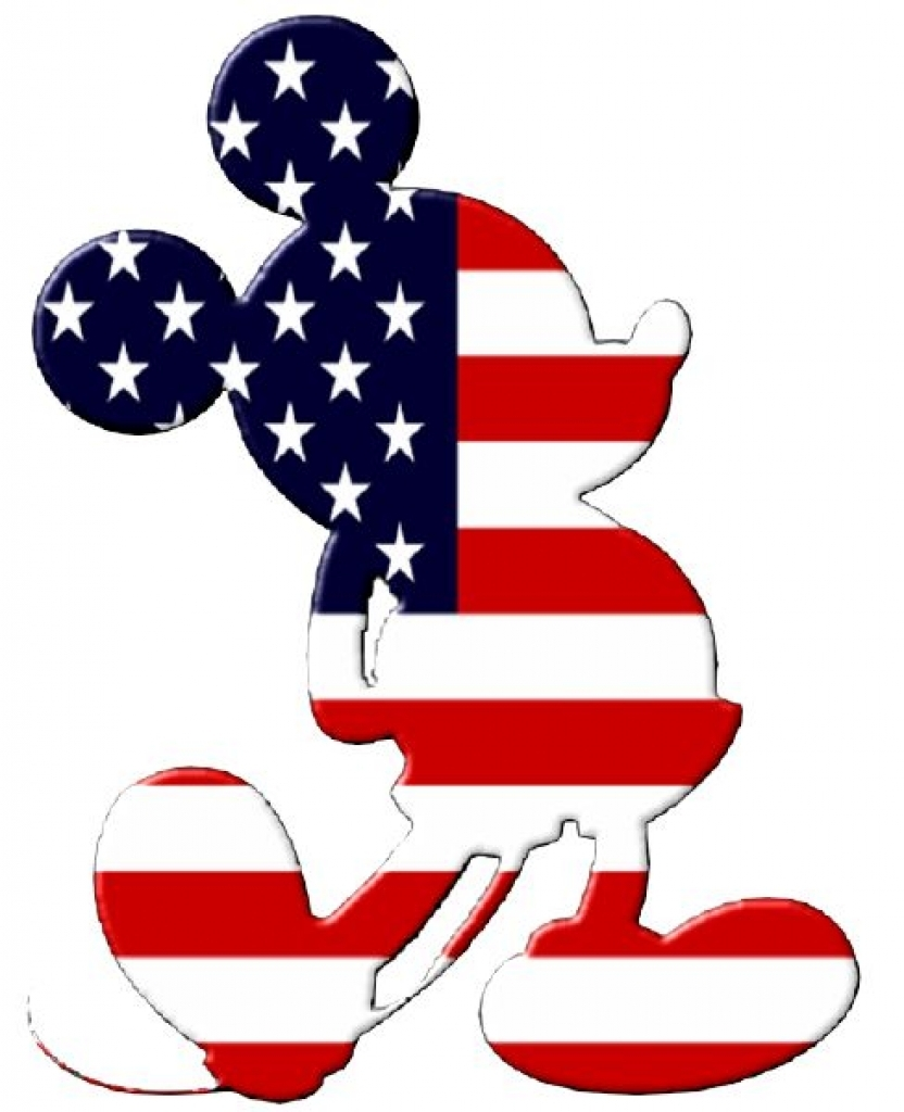 832x1024 Disney Clipart 4th Of July Disney Clip Art On Mickey