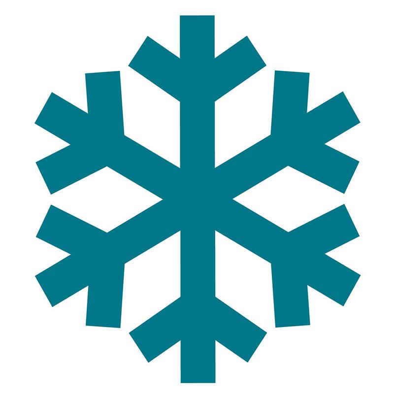 800x800 Snowflake Clip Art