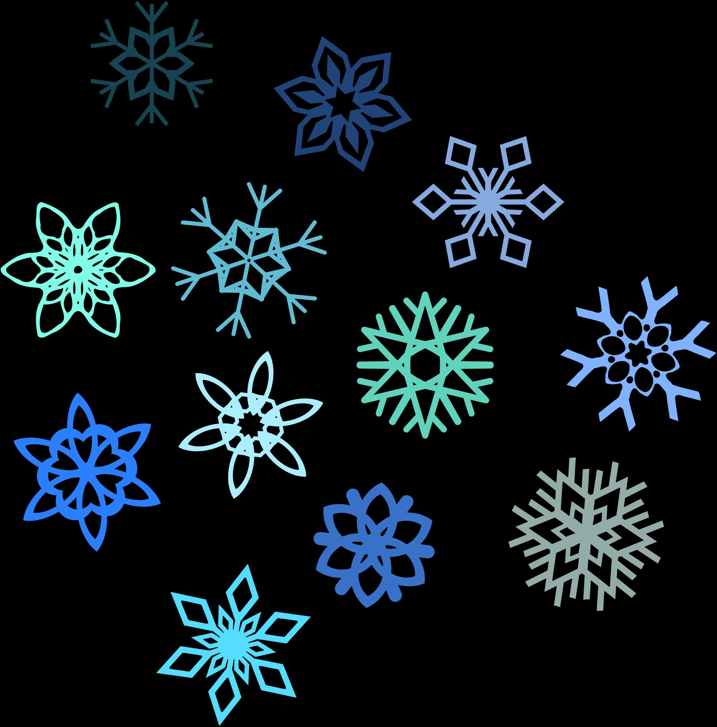 2369x2400 Snowflake Clip Art