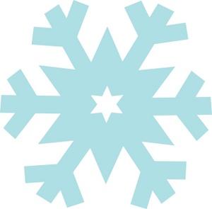 300x295 Top 75 Snowflake Clip Art