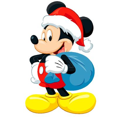 400x400 Disney Mickey Christmas Clipart Character