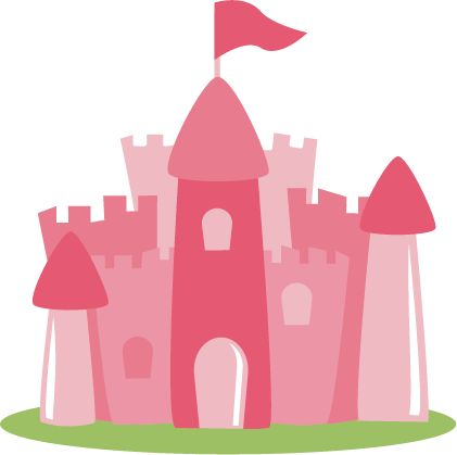 Disney Princess Castle Clipart