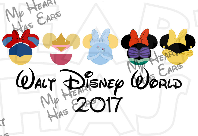 841x578 Disney Princesses My Heart Has Ears