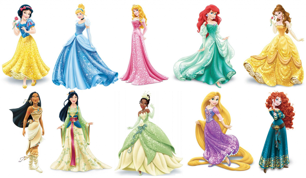 1024x598 Incredible Design Disney Princess Clip Art Princesses Clipart