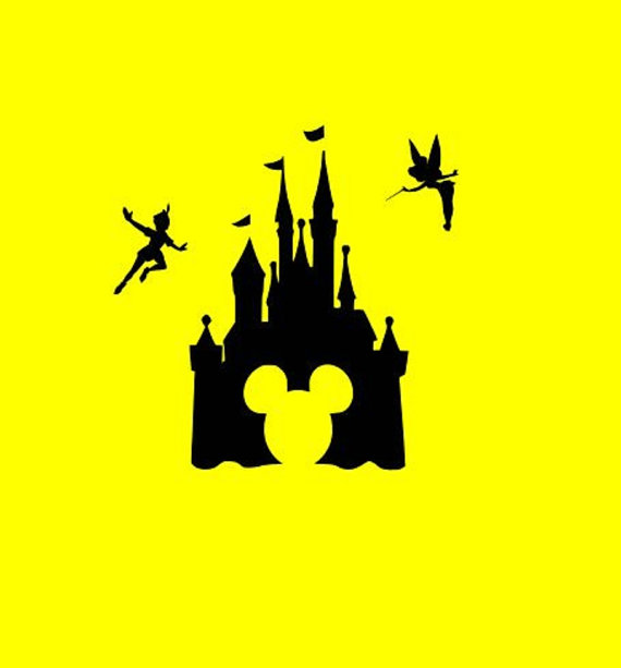 disneyland castle silhouette free download best disneyland castle