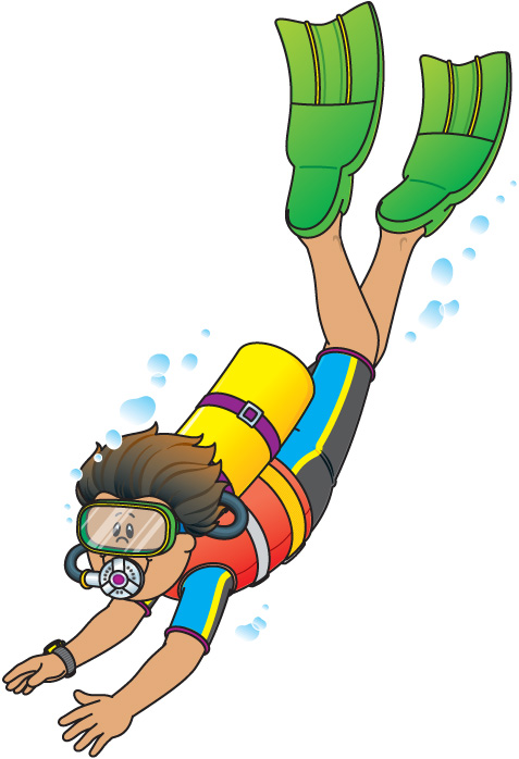 477x698 Diver Clipart Classroom Themes, Management, And Organization