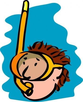 349x425 Free Diving Clip Art, Vector Free Diving