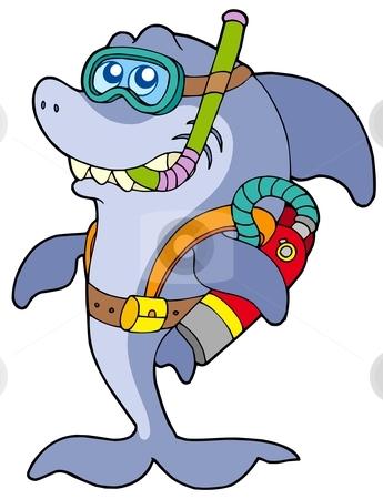 345x450 Ocean Clipart Scuba Diver