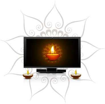 369x368 Happy Diwali Free Vector Download (4,329 Free Vector)