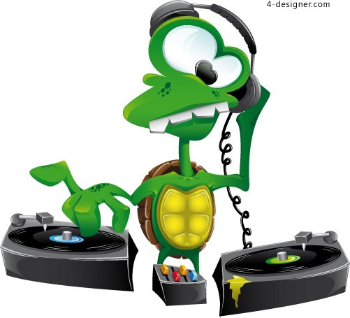 Dj Cartoon Images