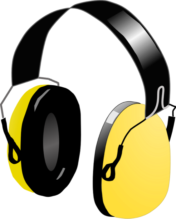 564x700 Audio Clipart Dj Headphone