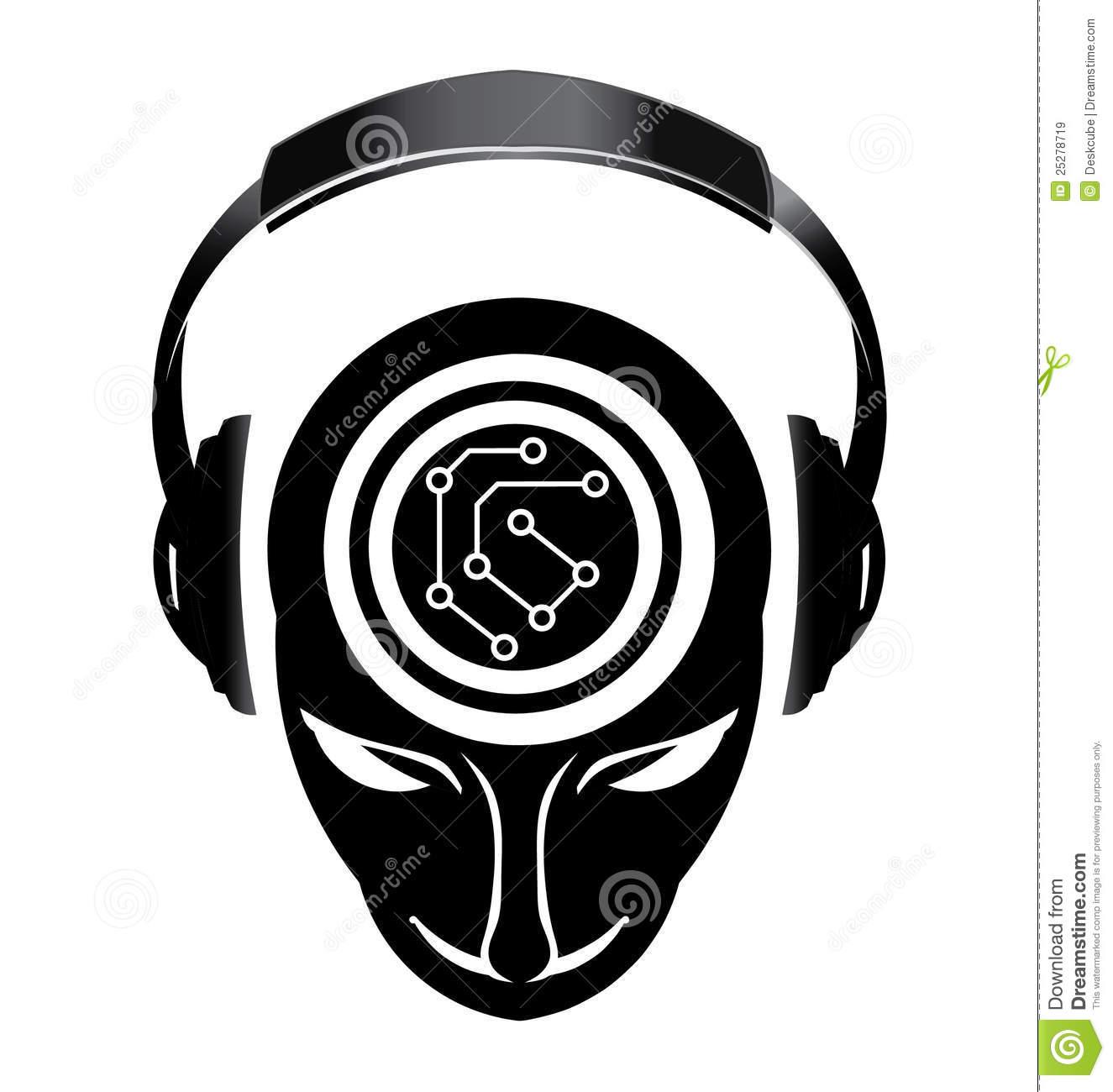 1325x1300 Dj Clipart Design Logo