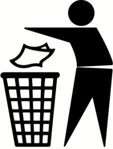228x300 Trash Clipart Do Not