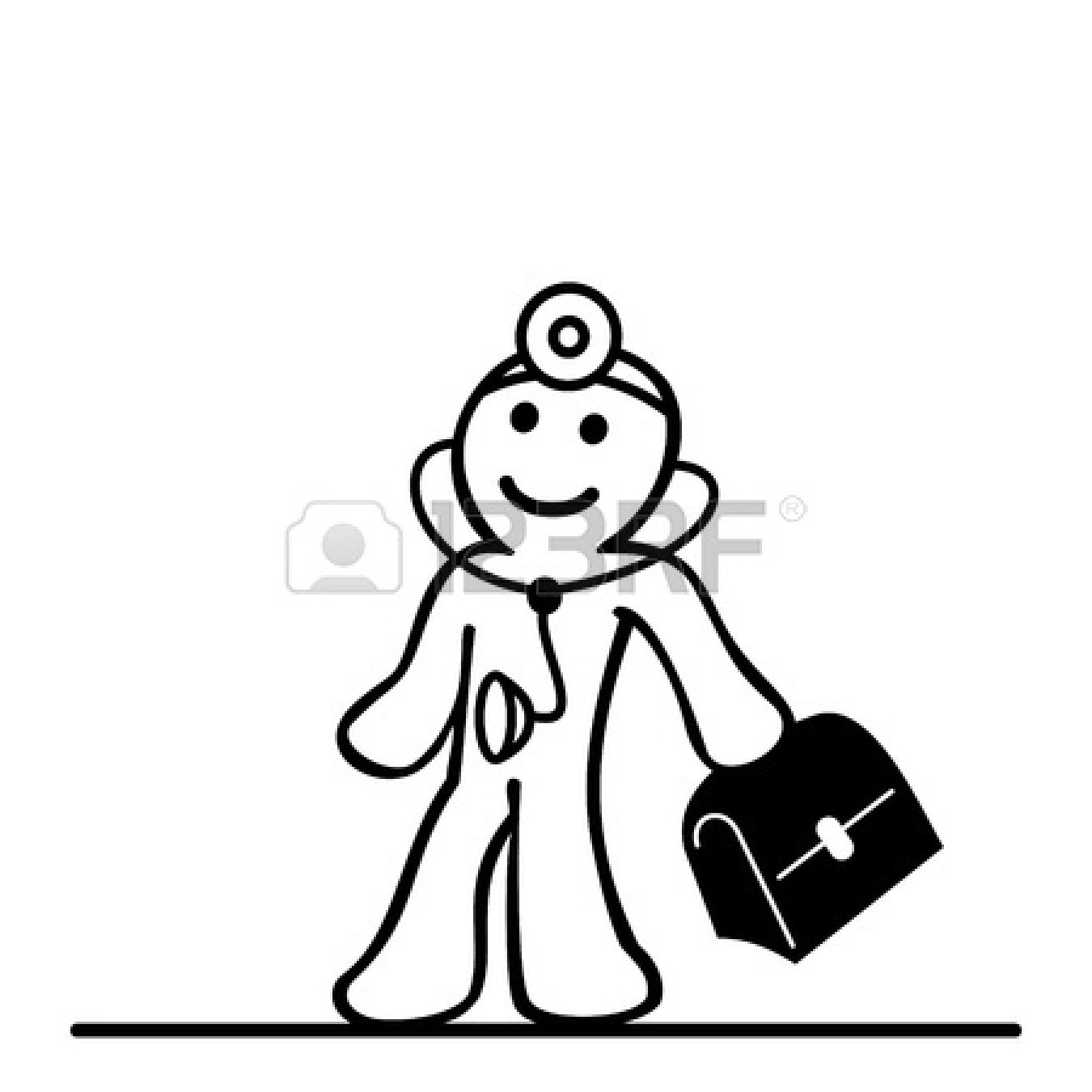 1350x1350 Doctor Bag Clipart Black And White Clipart Panda