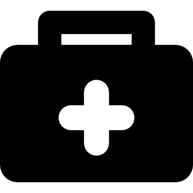 626x626 Doctor Suitcase With A Cross Icons Free Download