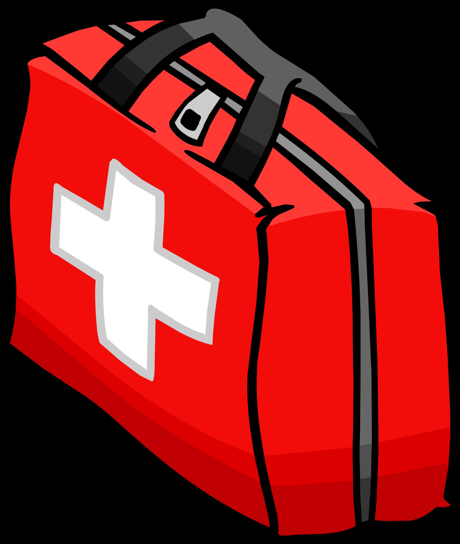 1802x2129 Bag Clipart Emergency Kit