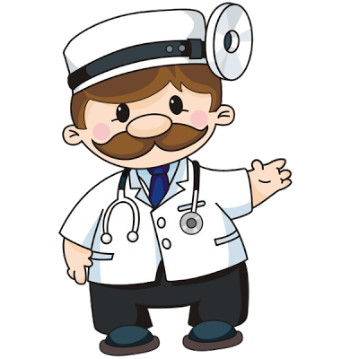 400x400 Doctor Cartoon Clipart 101 Clip Art