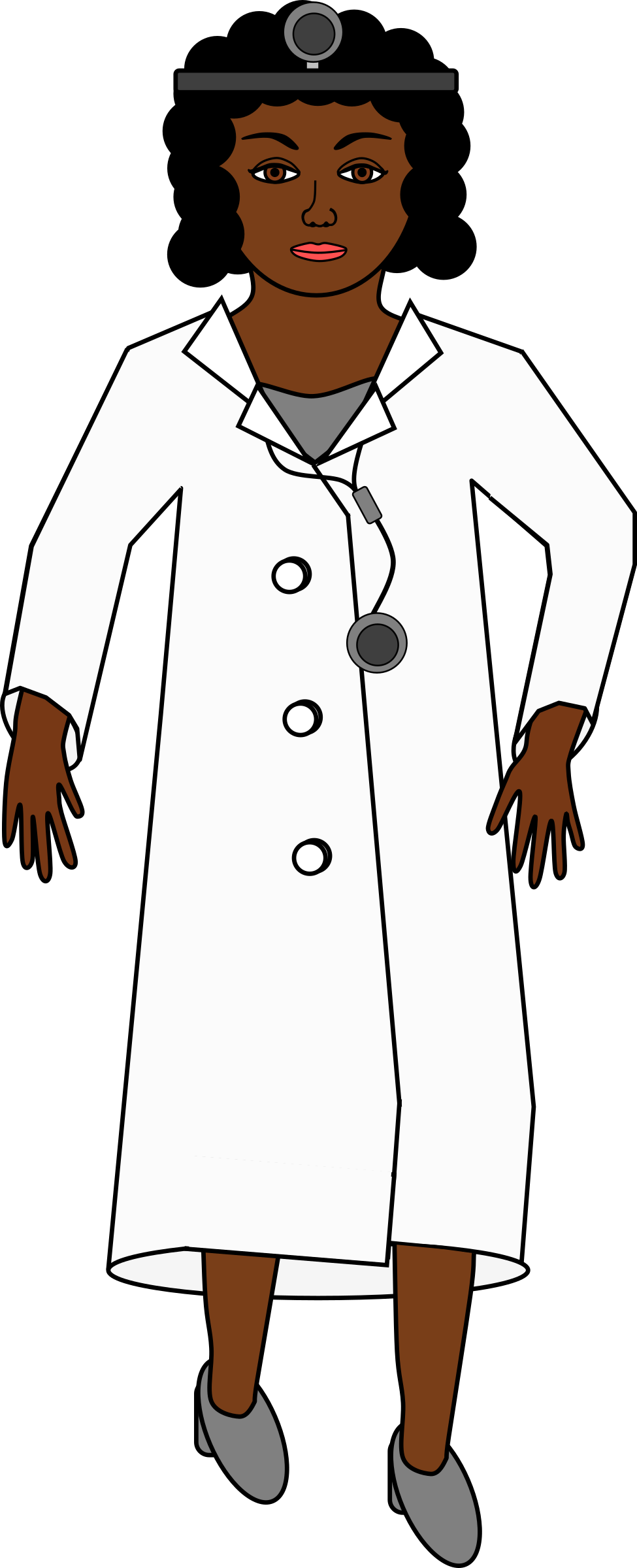 975x2400 Doctor free clipart clip art of 5 clipartwork