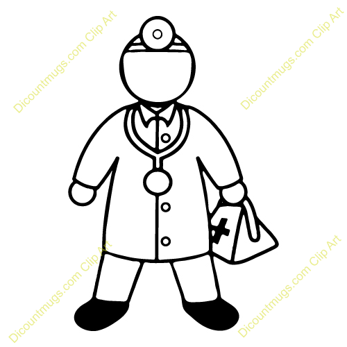 500x500 Uniform Clipart Doctor Tool