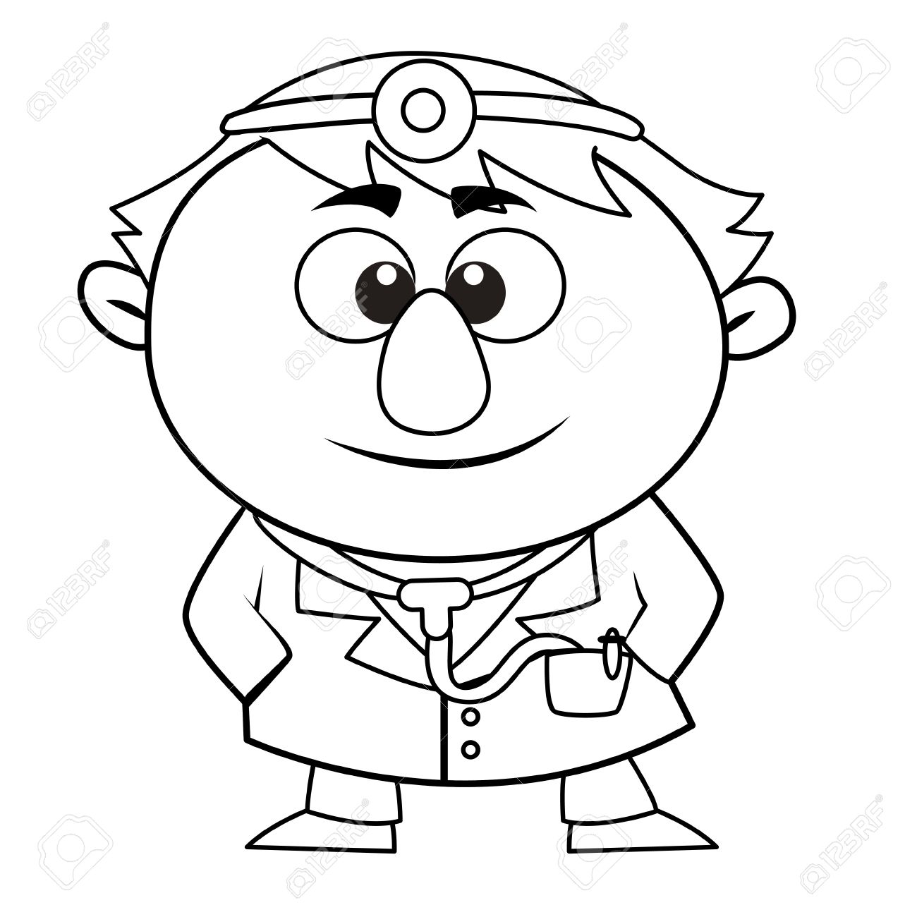 1300x1300 Doctor Black And White Clipart 101 Clip Art