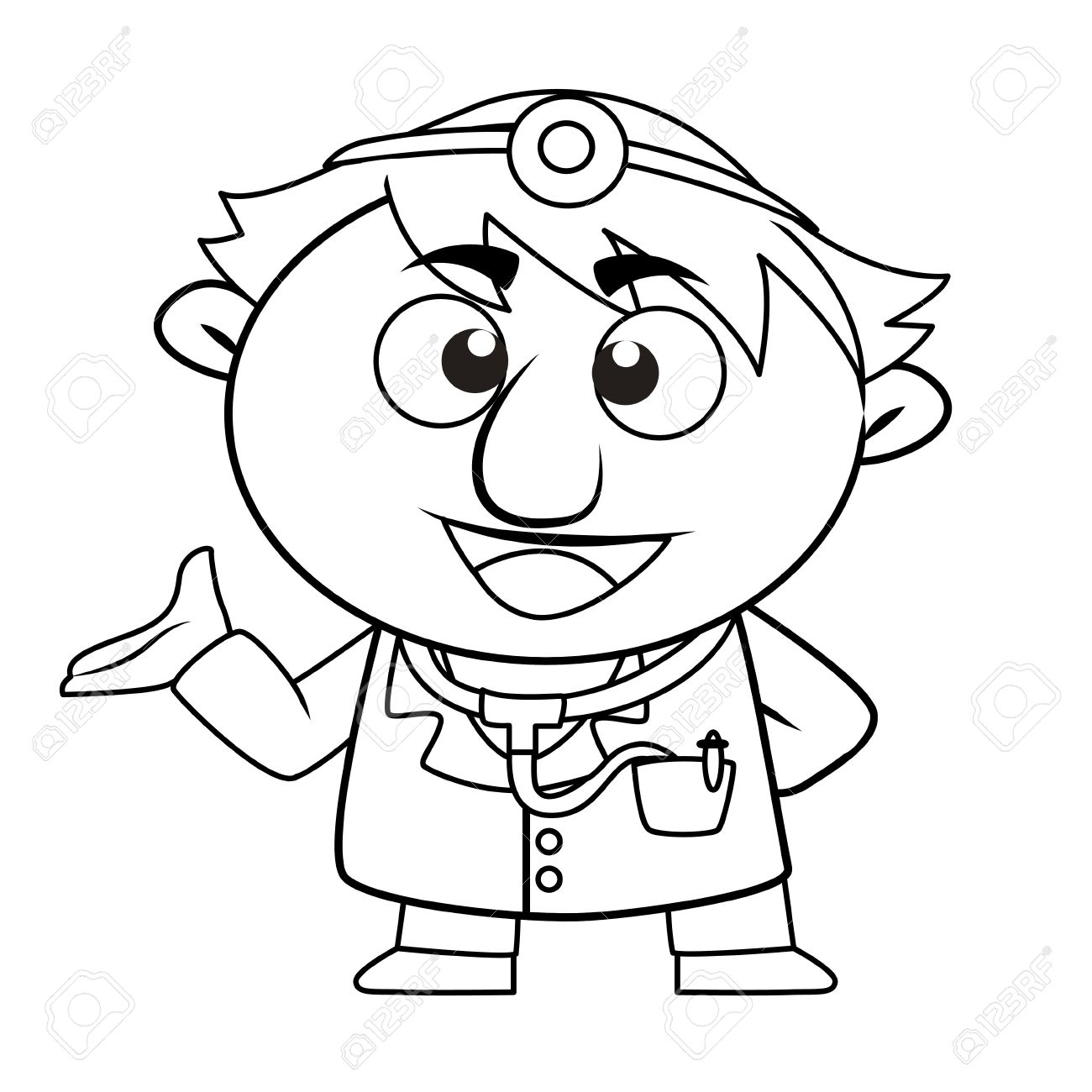 1300x1300 Doctor Clipart Black And White 101 Clip Art