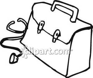 300x254 Purse Clipart Black And White