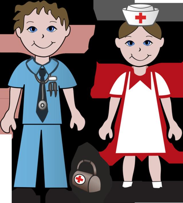 639x707 Clip Art Nurses And A Doctor
