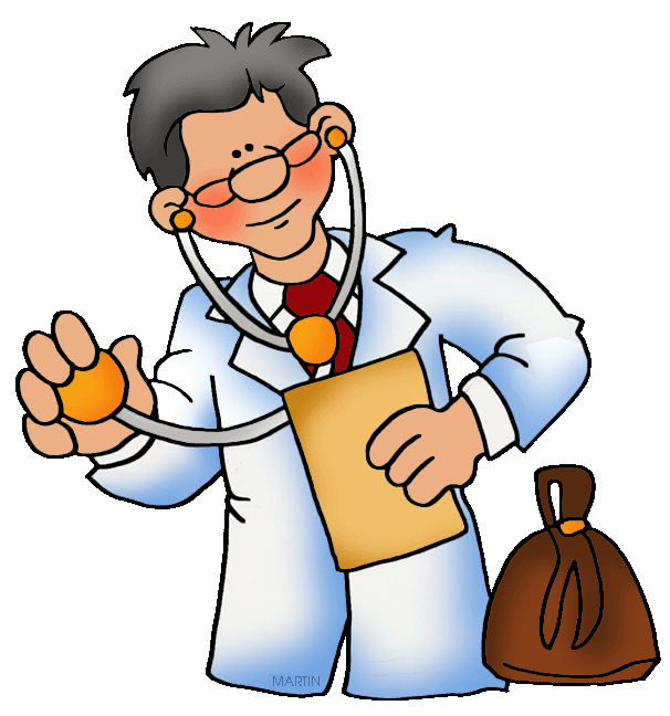 606x648 Occupations Clip Art By Phillip Martin, Doctor