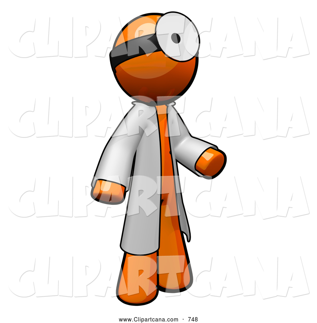 1024x1044 Clip Art Of A 3d Orange Man Doctor3d Orange Man Doctor By Leo