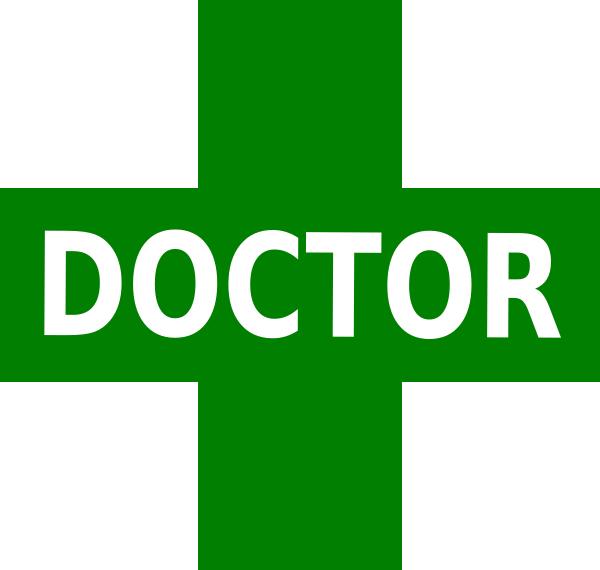 600x570 Doctor Logo Green White Clip Art