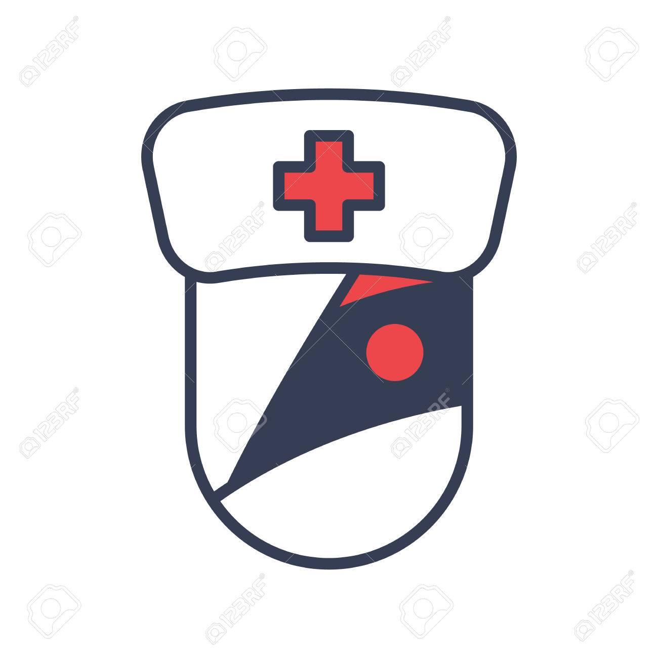 1300x1300 Halloween Zombie Doctor Icon Logo Design Element Royalty Free