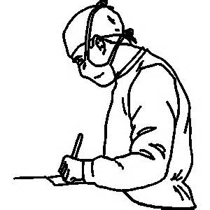 300x300 Doctor Doing Surgery Clipart