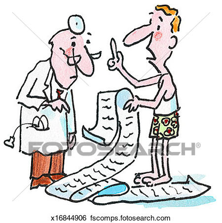 450x452 Stock Illustration Of Patient Asking Doctor Questions X16844906