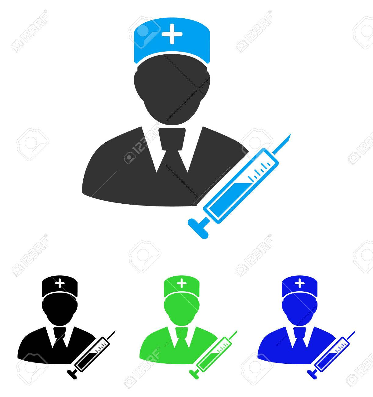 1222x1300 Doctor Vector Pictogram. Style Is Flat Graphic Doctor Symbol