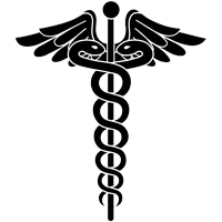200x200 Download Doctor Symbol Caduceus Free Download Png Hq Png Image